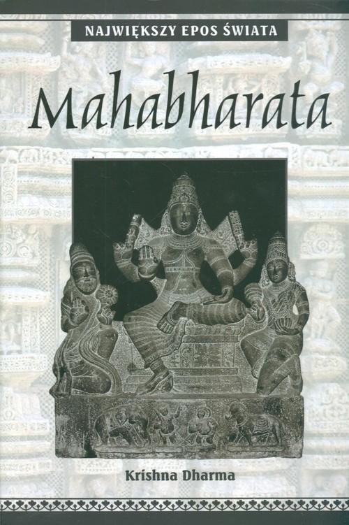 okładka Mahabharata Największy Epos Świata, Książka | Dharma Krishna