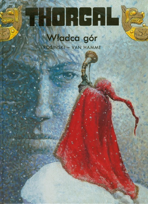 okładka Thorgal Władca gór Tom 15, Książka | Grzegorz Rosiński, Jean Hamme
