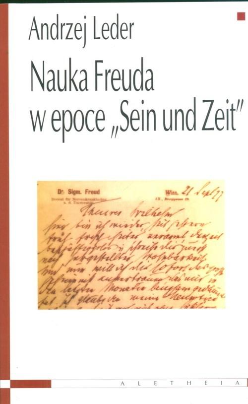okładka Nauka Freuda w epoce Sein und Zeit, Książka | prof. Andrzej Leder