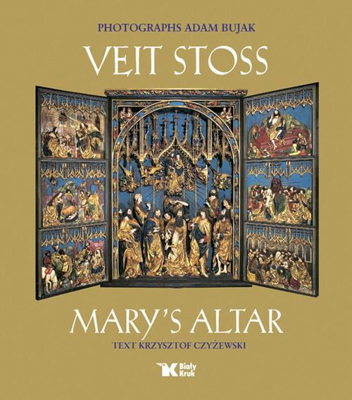 okładka Veit Stoss Mary's Altar, Książka | Adam Bujak