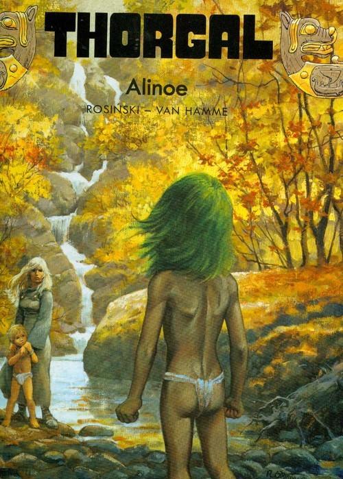 okładka Thorgal Alinoe Tom 8, Książka | Grzegorz Rosiński, Jean Hamme