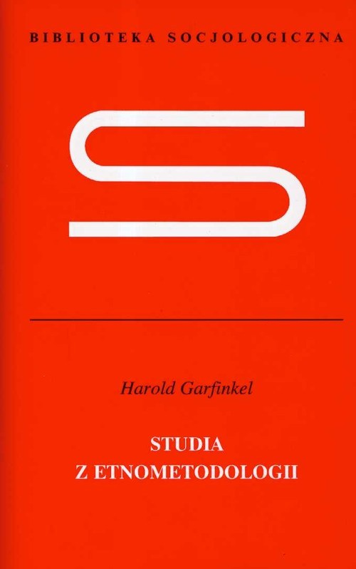 okładka Studia z etnometodologii, Książka | Harold  Garfinkel