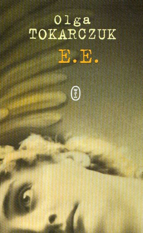 okładka E E, Książka | Olga Tokarczuk
