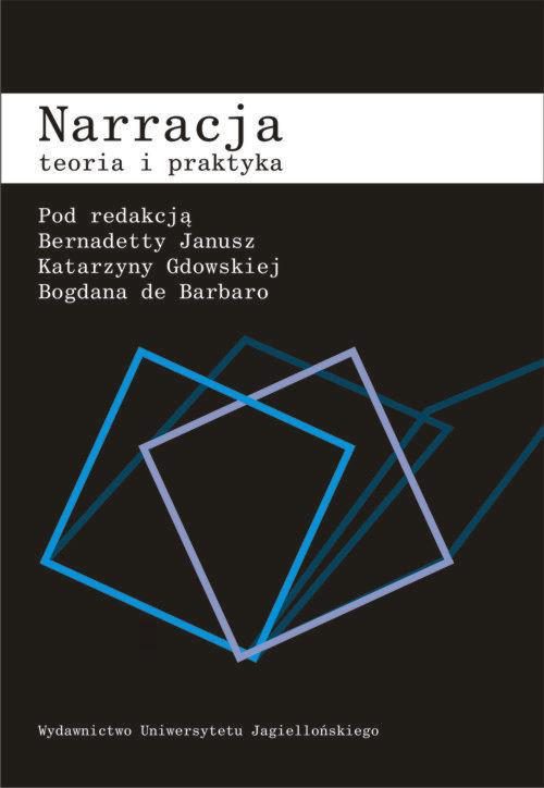 okładka Narracja Teoria i praktyka, Książka  
