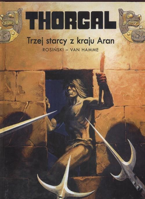 okładka Thorgal Trzej starcy z kraju Aran Tom 3, Książka | Grzegorz Rosiński, Jean Hamme