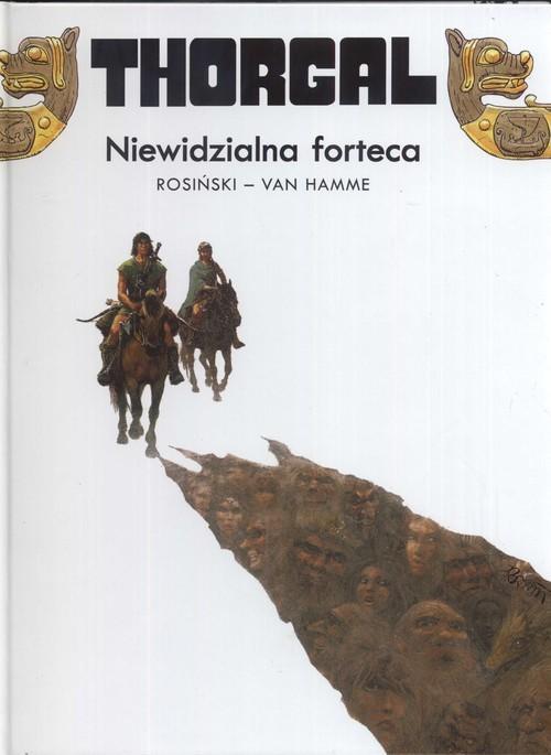 okładka Thorgal Niewidzialna forteca Tom 19, Książka | Grzegorz Rosiński, Jean Hamme