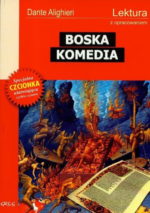 okładka Boska Komedia Lektura z opracowaniem, Książka | Dante Alighieri