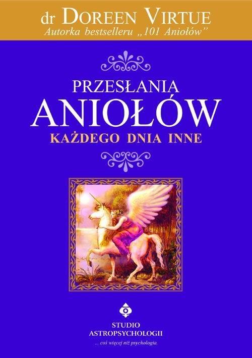okładka Przesłania Aniołów każdego dnia inne, Książka   Virtue Doreen