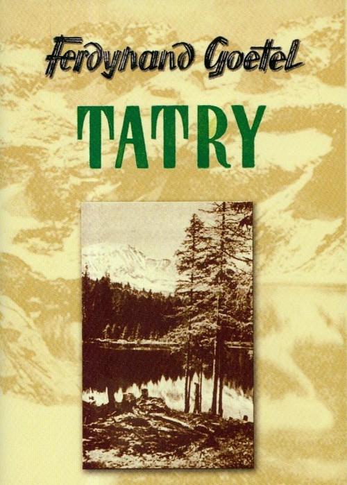 okładka Tatry, Książka | Goetel Ferdynand