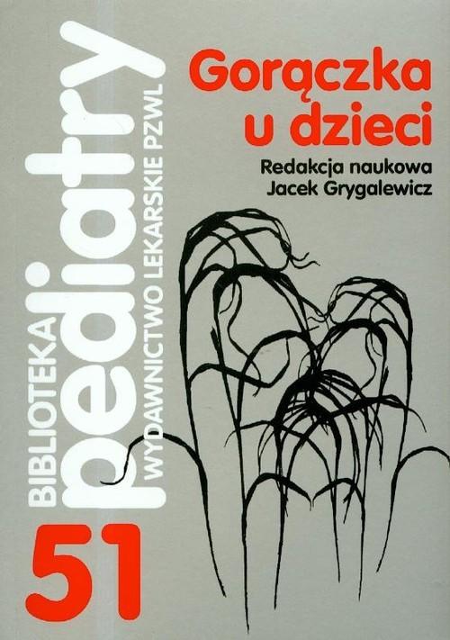 okładka Gorączka u dzieci, Książka  