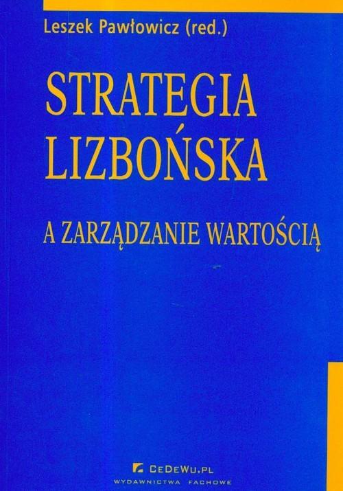 okładka Strategia lizbońska a zarządzanie wartością, Książka |