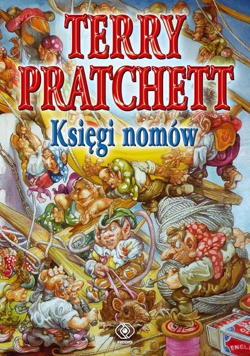 okładka Księgi nomów, Książka | Terry Pratchett