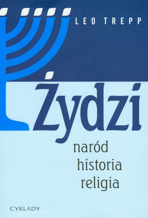 okładka Żydzi naród historia religia, Książka | Trepp Leo