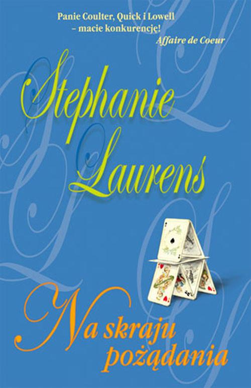 okładka Na skraju pożądania, Książka   Laurens Stephanie