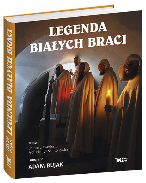 okładka Legenda Białych Braci, Książka | Samsonowicz Henryk