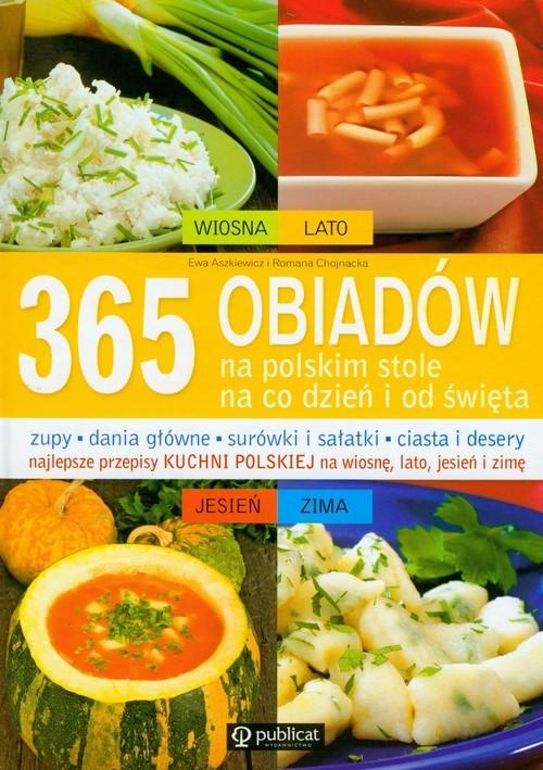 okładka 365 obiadów na polskim stole, Książka | Ewa Aszkiewicz, Romana Chojnacka