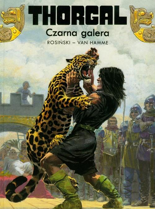 okładka Thorgal Czarna galera Tom 4, Książka | Grzegorz Rosiński, Jean Hamme