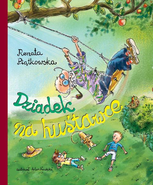 okładka Dziadek na huśtawce, Książka | Piątkowska Renata