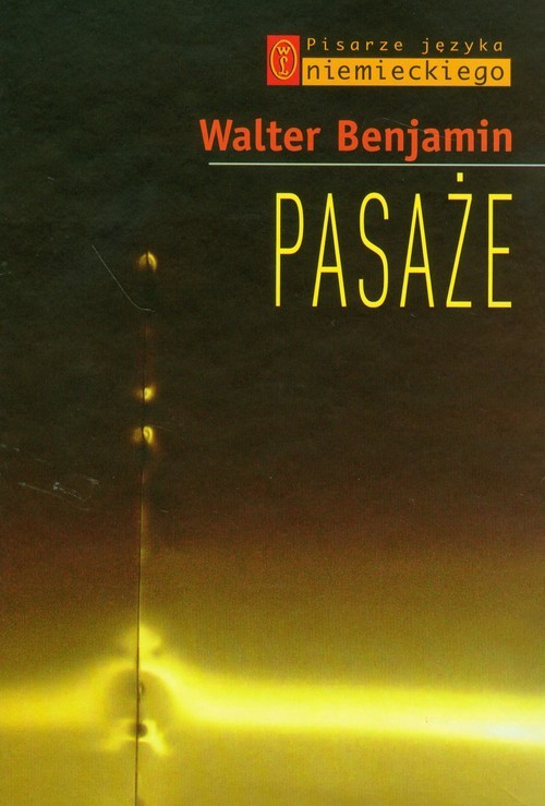 okładka Pasaże, Książka | Benjamin Walter