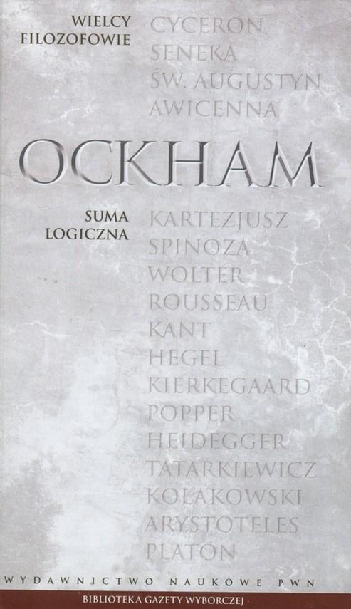 okładka Wielcy Filozofowie 9 Suma logiczna, Książka | Ockham
