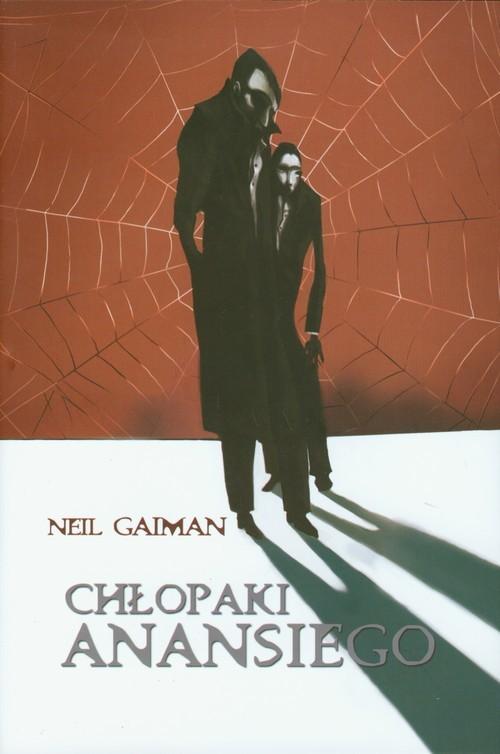 okładka Chłopaki Anansiego, Książka   Neil Gaiman