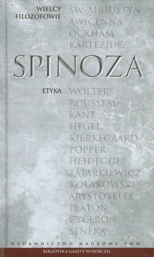 okładka Wielcy Filozofowie 12 Etyka, Książka | Spinoza