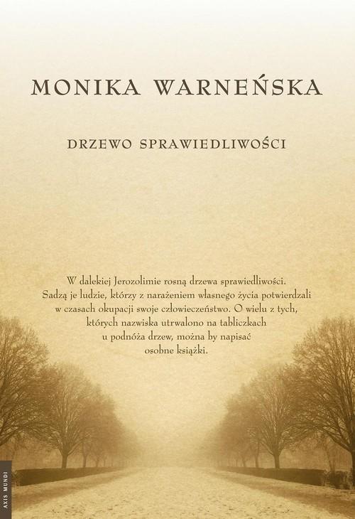 okładka Drzewo Sprawiedliwości, Książka | Warneńska Monika