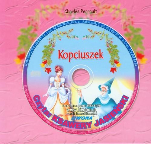 okładka Kopciuszek Słuchowisko z płytą Cd, Książka | Perrault Charles