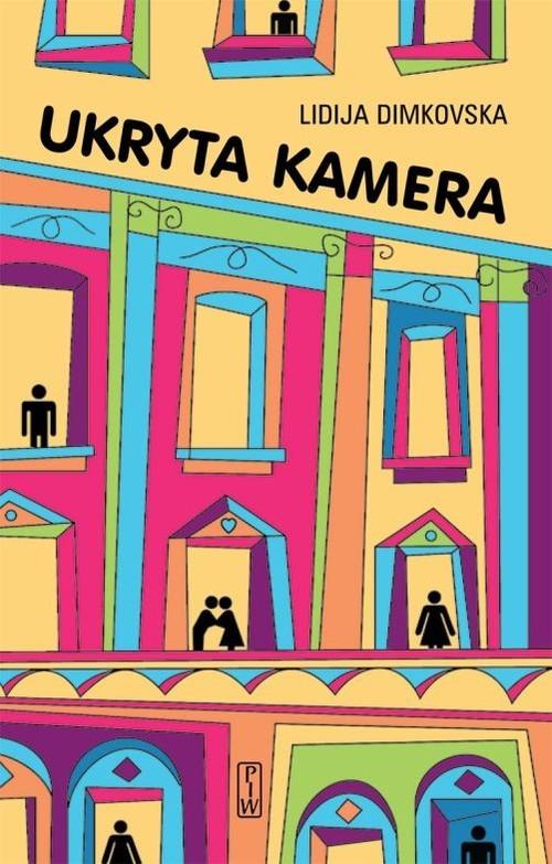 okładka Ukryta  kamera, Książka | Dimkovska Lidija