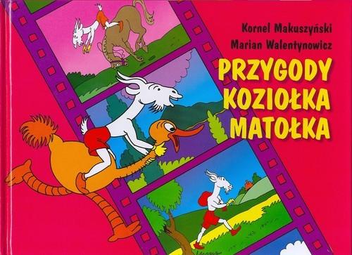 okładka Przygody Koziołka Matołka, Książka | Makuszyński Kornel