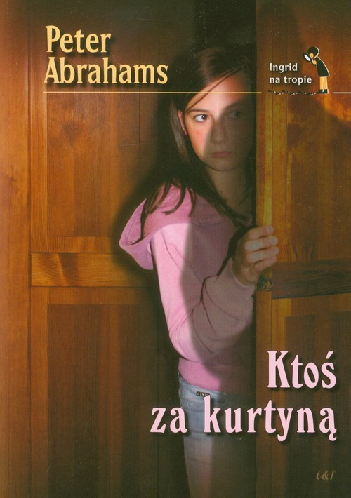 okładka Ktoś za kurtyną, Książka | Abrahams Peter