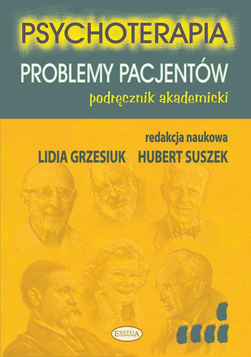 okładka Psychoterapia Problemy pacjentów Podręcznik akademickiksiążka     