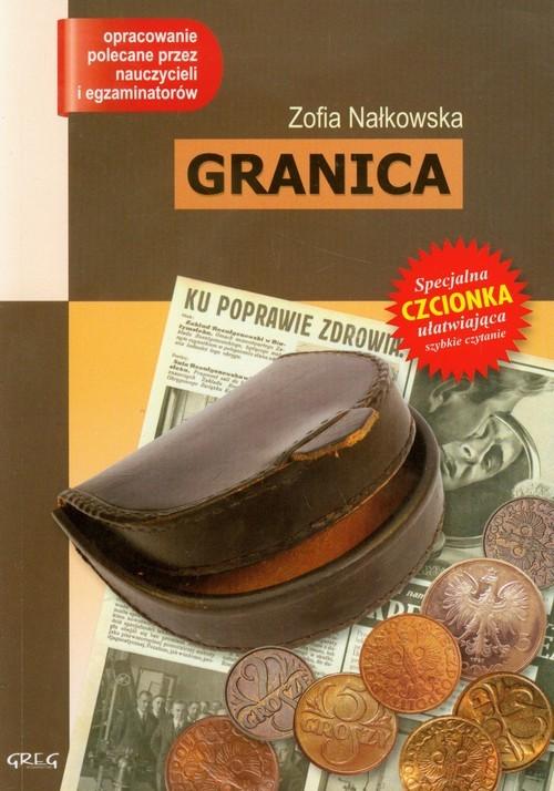 okładka Granica z opracowaniem, Książka | Nałkowska Zofia