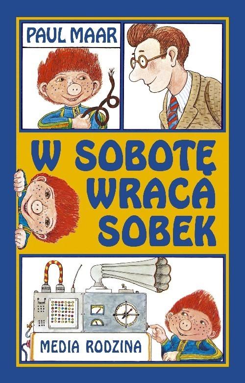 okładka W sobotę wraca Sobek, Książka   Maar Paul