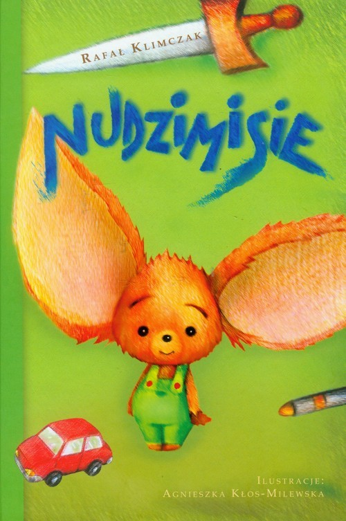 okładka Nudzimisie, Książka | Klimczak Rafał