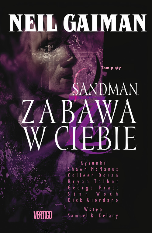 okładka Sandman Zabawa w ciebie Tom 5 Komiks, Książka | Gaiman Neil