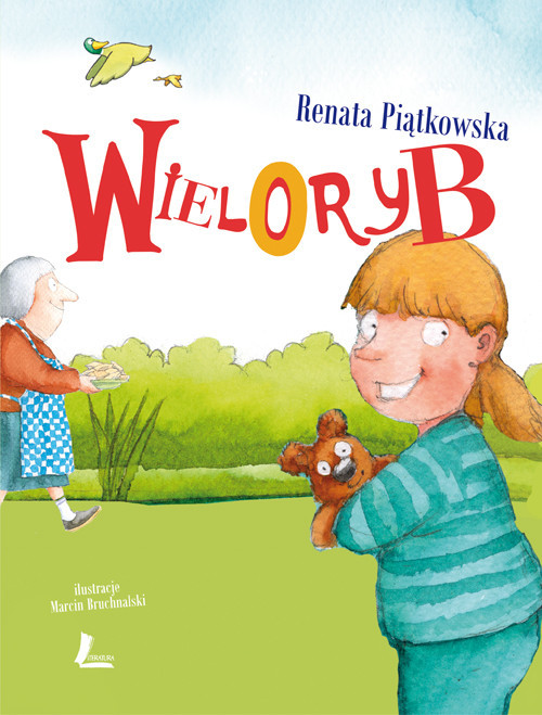 okładka Wieloryb, Książka | Piątkowska Renata