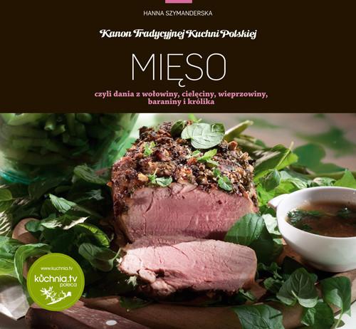 okładka Mięso czyli dania z wołowiny, cielęciny, wieprzowiny, baraniny i królika, Książka | Hanna Szymanderska