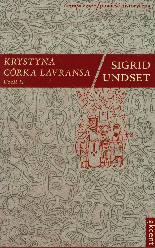 okładka Krystyna córka Lavransa Część 2, Książka | Sigrid Undset