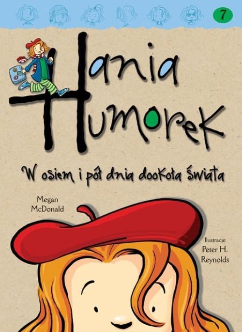 okładka Hania Humorek W osiem i pół dnia dookoła świata, Książka | McDonald Megan