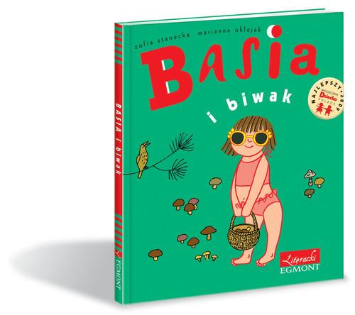 okładka Basia i biwak, Książka | Zofia Stanecka, Marianna Oklejak