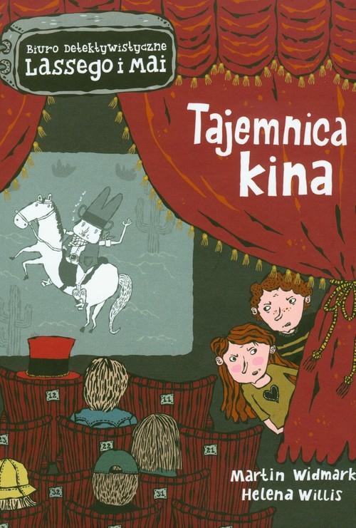 okładka Tajemnica kina, Książka | Martin Widmark, Helena Willis