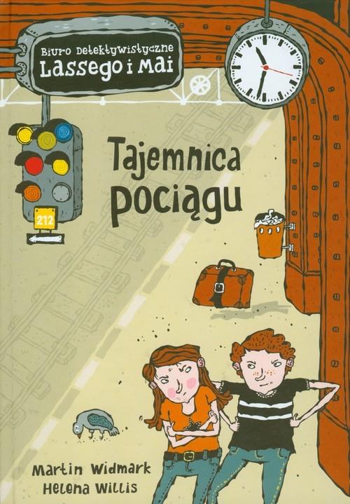 okładka Tajemnica pociągu Biuro detektywistyczne Lassego i Maiksiążka |  | Martin Widmark, Helena Willis