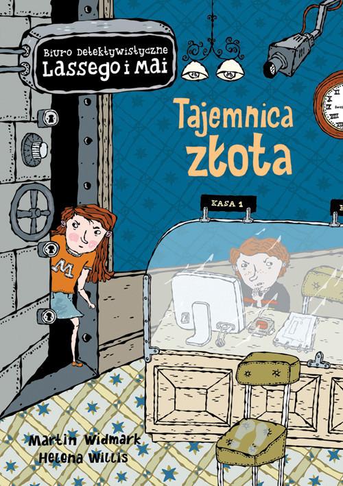 okładka Tajemnica złota, Książka | Martin Widmark, Helena Willis