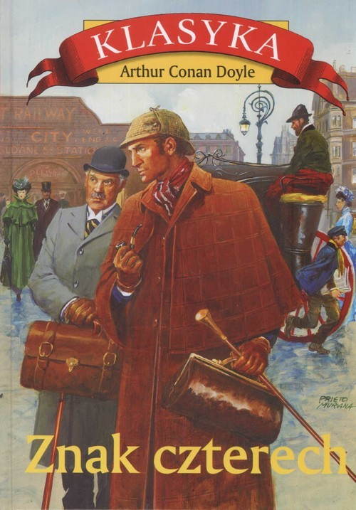 okładka Znak czterech. KsiążkaArthur Conan Doyle