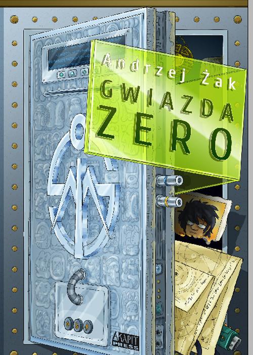 okładka Gwiazda Zero, Książka | Andrzej Żak