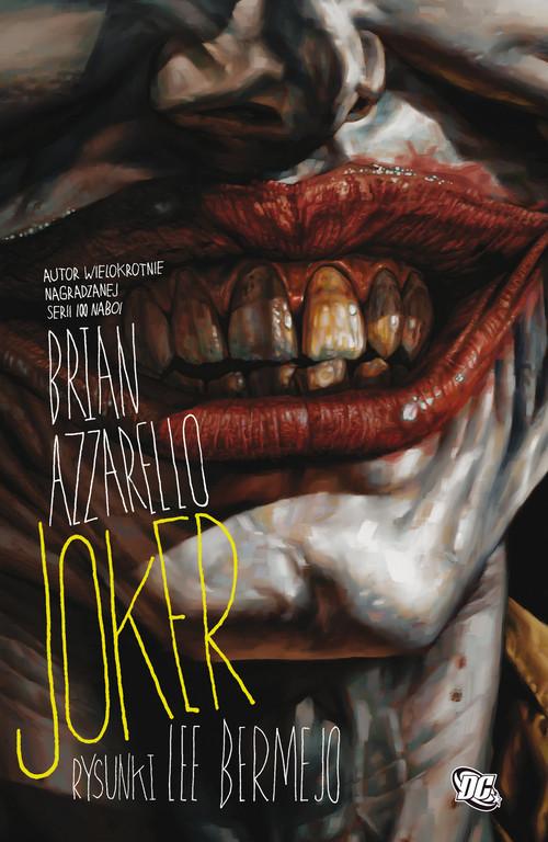 okładka Joker Tylko dla dorosłych, Książka   Brian Azzarello