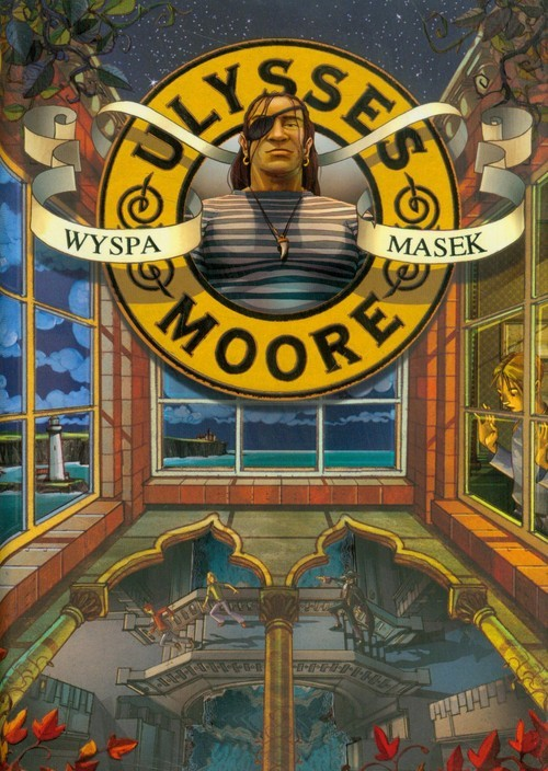 okładka Ulysses Moore 4 Wyspa masek, Książka   Pierdomenico Baccalario