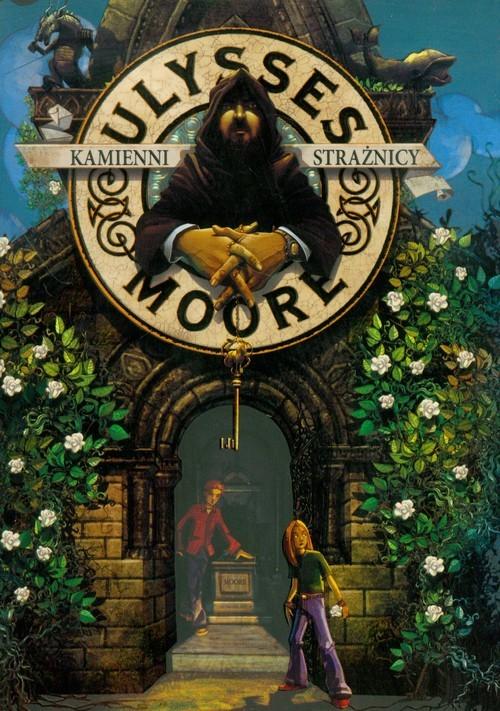 okładka Ulysses Moore 5 Kamienni strażnicy, Książka   Pierdomenico Baccalario
