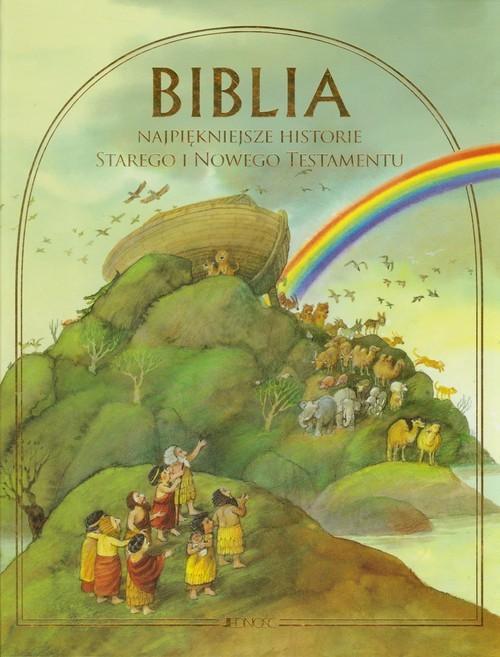okładka Biblia Najpiękniejsze historie Starego i Nowego Testamentu, Książka | Delval Marie-Helene
